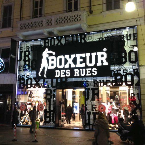 BOXEUR De Rue MILAN