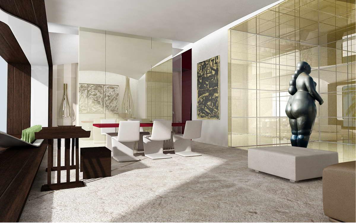 Hilton hotel santo domingo architetto fernando mosca for Design hotel mosca
